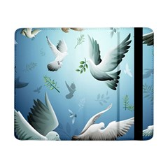 Animated Nature Wallpaper Animated Bird Samsung Galaxy Tab Pro 8 4  Flip Case by AnjaniArt