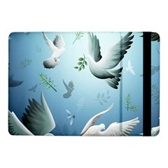 Animated Nature Wallpaper Animated Bird Samsung Galaxy Tab Pro 10 1  Flip Case by AnjaniArt