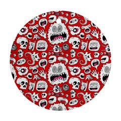 Another Monster Pattern Ornament (round)  by AnjaniArt
