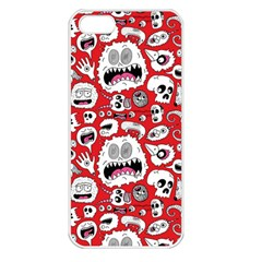 Another Monster Pattern Apple Iphone 5 Seamless Case (white)