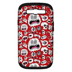 Another Monster Pattern Samsung Galaxy S Iii Hardshell Case (pc+silicone) by AnjaniArt