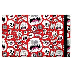 Another Monster Pattern Apple Ipad 3/4 Flip Case