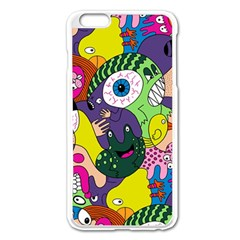 Another Weird Pattern Apple Iphone 6 Plus/6s Plus Enamel White Case