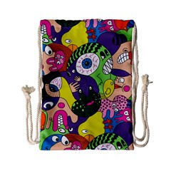 Another Weird Pattern Drawstring Bag (small) by AnjaniArt