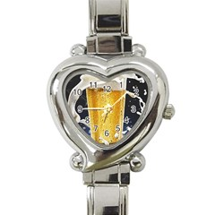 Beer 1 Heart Italian Charm Watch
