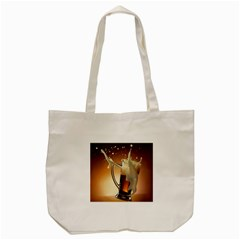 Beer Wallpaper Tote Bag (cream)