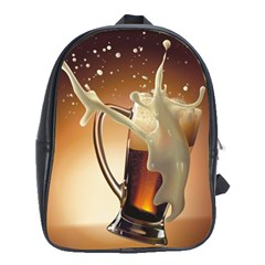 Beer Wallpaper School Bags (xl)  by AnjaniArt
