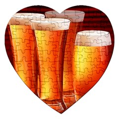 Beer Wallpaper Wide Jigsaw Puzzle (heart)