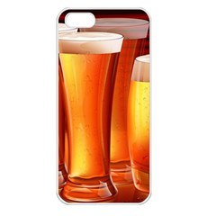Beer Wallpaper Wide Apple Iphone 5 Seamless Case (white)