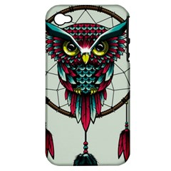 Bird Apple Iphone 4/4s Hardshell Case (pc+silicone)