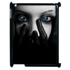 Black And White Apple Ipad 2 Case (black)
