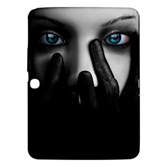 Black And White Samsung Galaxy Tab 3 (10 1 ) P5200 Hardshell Case