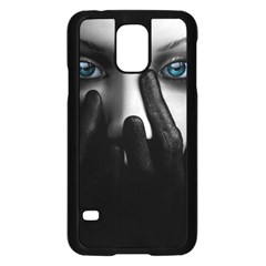 Black And White Samsung Galaxy S5 Case (black)