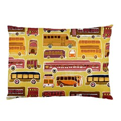 Bus Cartoons Logo Pillow Case (two Sides)