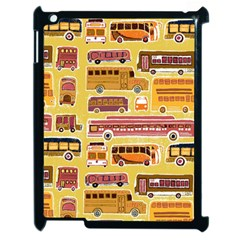 Bus Cartoons Logo Apple Ipad 2 Case (black)