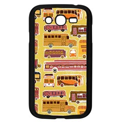 Bus Cartoons Logo Samsung Galaxy Grand Duos I9082 Case (black)