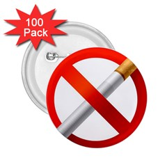 Cigarette 2 25  Buttons (100 Pack)