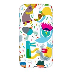Colorful Cartoon Funny People Samsung Galaxy S4 I9500/i9505 Hardshell Case