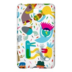 Colorful Cartoon Funny People Samsung Galaxy Tab 4 (8 ) Hardshell Case  by AnjaniArt