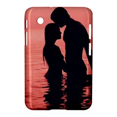 Couple In Love Beach Samsung Galaxy Tab 2 (7 ) P3100 Hardshell Case  by AnjaniArt