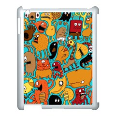 Creature Cluster Apple Ipad 3/4 Case (white) by AnjaniArt
