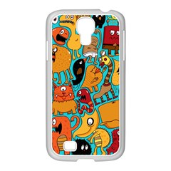 Creature Cluster Samsung Galaxy S4 I9500/ I9505 Case (white) by AnjaniArt