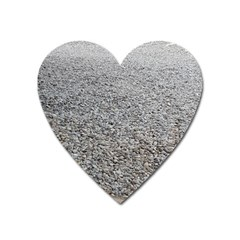 Pebble Beach Photography Ocean Nature Heart Magnet by yoursparklingshop