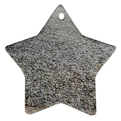 Pebble Beach Photography Ocean Nature Star Ornament (two Sides)  by yoursparklingshop