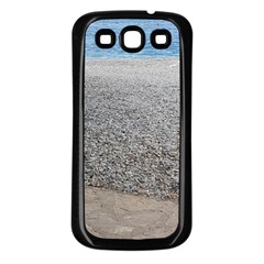 Pebble Beach Photography Ocean Nature Samsung Galaxy S3 Back Case (black) by yoursparklingshop