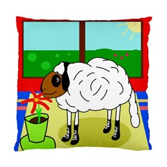 Urban Sheep Standard Cushion Case (two Sides) by Valentinaart