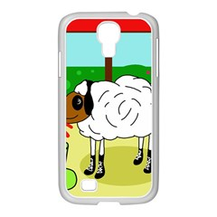 Urban Sheep Samsung Galaxy S4 I9500/ I9505 Case (white) by Valentinaart