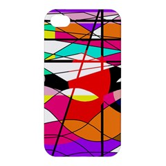 Abstract Waves Apple Iphone 4/4s Hardshell Case