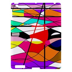 Abstract Waves Apple Ipad 3/4 Hardshell Case by Valentinaart