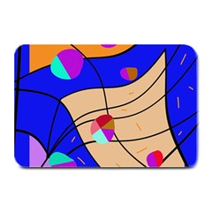 Decorative Abstract Art Plate Mats by Valentinaart