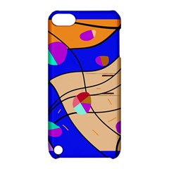Decorative Abstract Art Apple Ipod Touch 5 Hardshell Case With Stand by Valentinaart