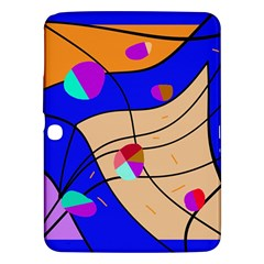 Decorative Abstract Art Samsung Galaxy Tab 3 (10 1 ) P5200 Hardshell Case  by Valentinaart