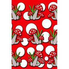 Mushrooms Pattern 5 5  X 8 5  Notebooks by Valentinaart