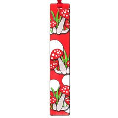 Mushrooms Pattern Large Book Marks by Valentinaart