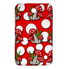 Mushrooms Pattern Samsung Galaxy Tab 3 (7 ) P3200 Hardshell Case  by Valentinaart