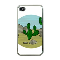 Desert Apple Iphone 4 Case (clear) by Valentinaart