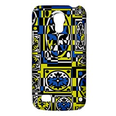 Blue And Yellow Decor Galaxy S4 Mini by Valentinaart