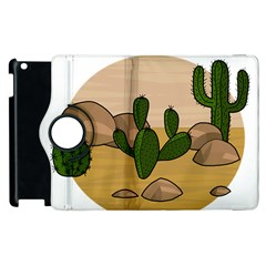 Desert 2 Apple Ipad 3/4 Flip 360 Case