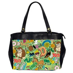 D Pattern Office Handbags (2 Sides)  by AnjaniArt