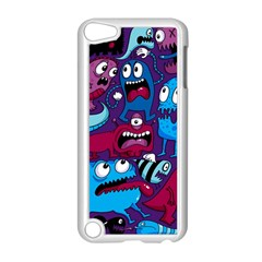 Deep Wow Purple Cartoons Apple Ipod Touch 5 Case (white)