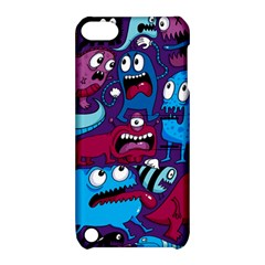 Deep Wow Purple Cartoons Apple Ipod Touch 5 Hardshell Case With Stand
