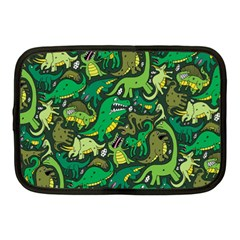Dino Pattern Cartoons Netbook Case (medium)  by AnjaniArt