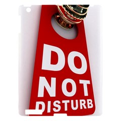 Do Not Disturb Apple Ipad 3/4 Hardshell Case by AnjaniArt