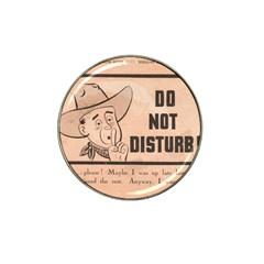 Do Not Disturb I Want To Sleep Thanks Hat Clip Ball Marker (10 Pack)
