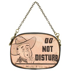 Do Not Disturb I Want To Sleep Thanks Chain Purses (two Sides)  by AnjaniArt