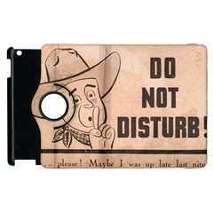 Do Not Disturb I Want To Sleep Thanks Apple Ipad 2 Flip 360 Case